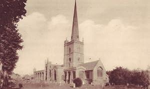 Fridge Magnet English Church Oxfordshire Burford Church OX15