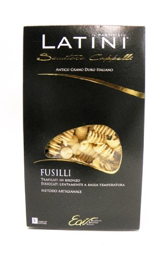 Latini Senatore Cappelli Fusilli Pasta 1.1 lb