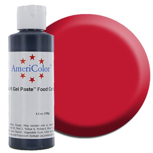 Americolor Soft Gel Paste 4.5 Oz Super Red