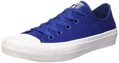 converse-chuck-taylor-all-star-ii-low-scarpe-da-ginnastica-unisex-adulto-blu-39-eu
