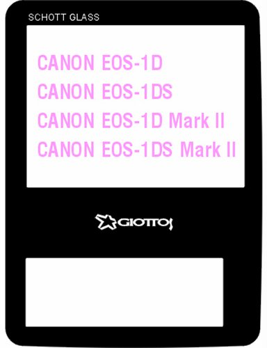 Giottos Sp8204 Aegis Multi-Coated Lcd Screen Protector For Canon Eos 1D, 1Ds, 1D Mark Ii