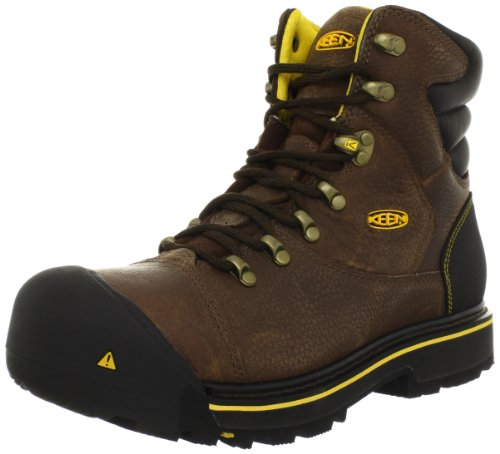 Keen Utility Men's Milwaukee 6-Inch Soft Toe Work Boot