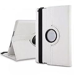 NC iPad Mini 2/3 360 Degree Case cover, Smart PU Leather Stand Flip Case Cover For APPLE iPAD Mini 2/3, Guaranteed Quality!!!! White