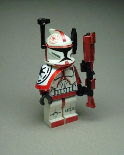 Trooper Commander Arc Red Fox (Clone Wars Commander Fox Costume)