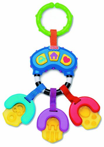 Fisher Price Musical Teether Keys Toy