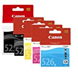 5 Canon Pixma iP4950 Original Printer Ink Cartridges - Cyan / Magenta / Yello...