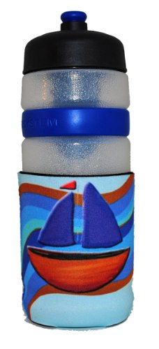 Kidzies Huggerz, Child'S Drink Sippy Cup Bottle Insulator, Nautical Design front-669319