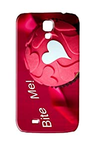 3D Bite Me Cupcake Best Custom Cell Phone Case Cover for Samsung Galaxy S4