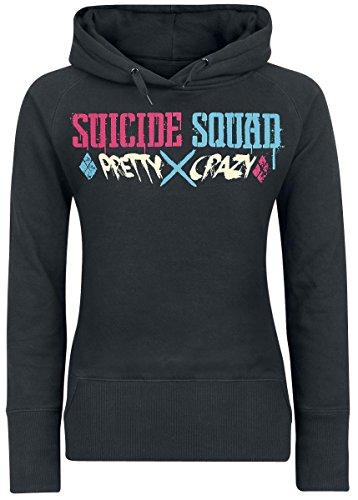 Suicide Squad Harley Quinn - Pretty Crazy Felpa donna nero M