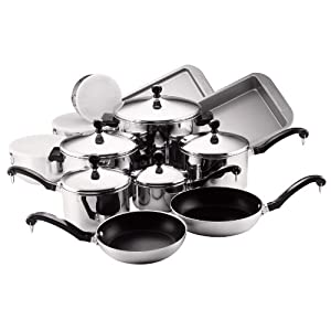 Farberware Classic 17-Piece Cookware Set