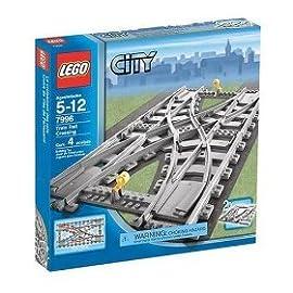 LEGO City Train Rail Crossing (7996) [Toy]