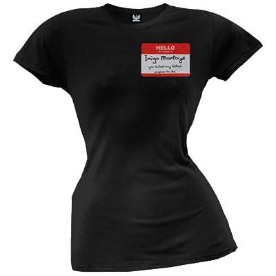 Juniors T-Shirt - The Princess Bride - Inigo Montoya Name Tag