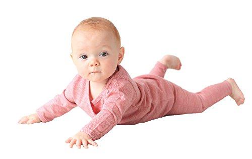 Merino Kids Long-Sleeve Merino Baby All-In-One