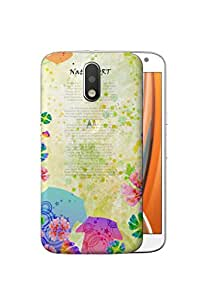 Digione Back Replacement Texture Plastic Cover Panel Battery Cover Snap on Case Cover for Motorola Moto G4 / G4 Plus