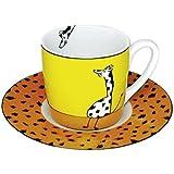 Espressoset Tiergeschichten - Giraffe