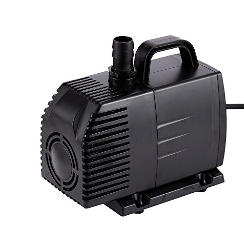 Simple deluxe 1056 gph ul listed submersible pump with 15 for Simple pond pump