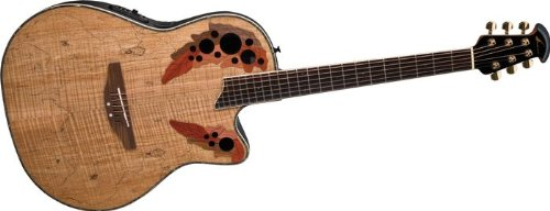 Spalted Maple Guitar Ovation Guitar Spalted Maple