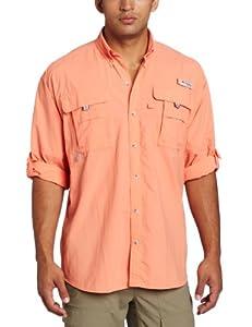 Sale columbia men 39 s bahama ii long sleeve shirt gj k for Jawbone fishing shirts