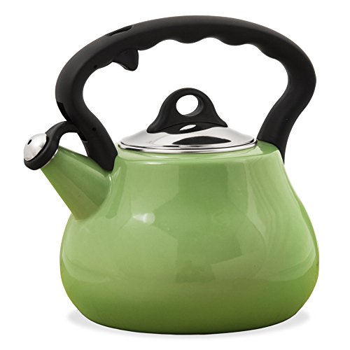 Remedy Lovely Lady 2 quart Kettle, Granny Apple (Apple Kettle compare prices)