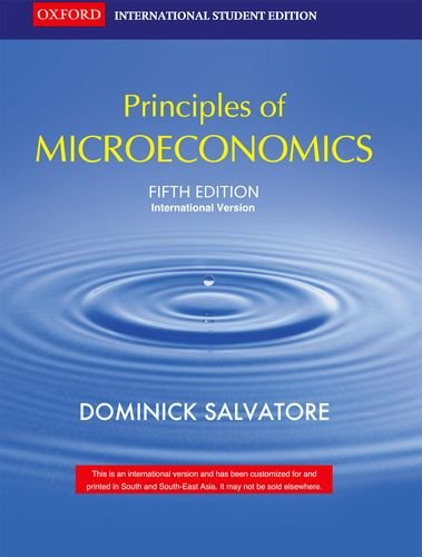 principals of microeconomics essay The purpose of this course is to provide you with a basic understanding of the principles of microeconomics at its core, the study of economics deals with the choices and decisions that have to be made in order to manage scarce resources available to us microeconomics is the branch of economics that pertains to.