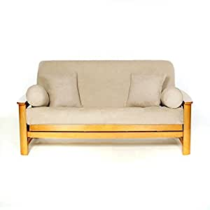 ls covers sussex buckskin full futon cover