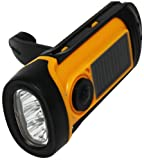Metro Fulfillment House SB6019 Solar Flashlight Dynamo