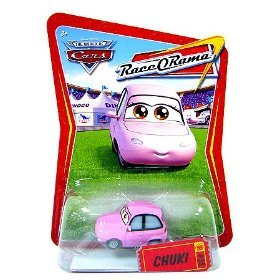 Disney / Pixar CARS Movie 1:55 Die Cast Race-O-Rama Package Chuki - 1