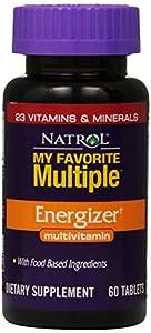 Natrol My Favorite Multiple Energizer Multivitamin Tablets, 60-Count