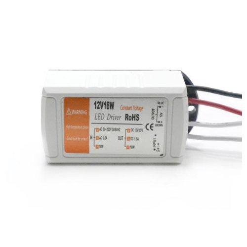 Zono® 18W Output Dc 12V 1.5A Led Driver Adapter Transfer For Led Strip Light Ac 90-220V Input Power Supply