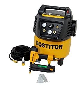 BOSTITCH BTFP12238 Compressor and Brad Nailer Combo Kit