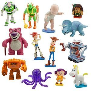 disney deluxe toy story 3 figurine play set. Black Bedroom Furniture Sets. Home Design Ideas