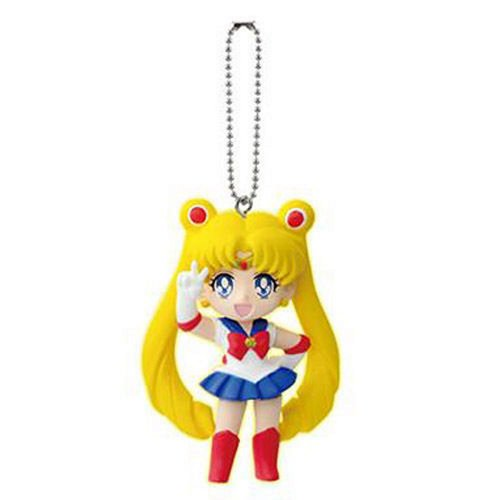 "Sailor Moon 20th Anniversary Bishoujo Senshi Keychain Swing Figure Sailor Moon 1.5 """