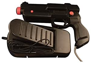 PlayStation 2/PSX Dual Shock Gun with Foot Pedal