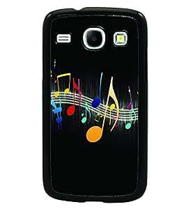 PRINTSWAG MUSIC Designer Back Cover Case for SAMSUNG GALAXY CORE i8262