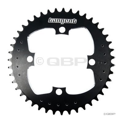 Tangent Products Tangent 4 bolt Chainring 43t 104mm Black