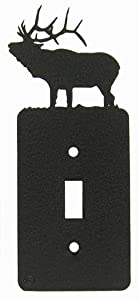 Solitary Elk Single Light Switch Plate Cover