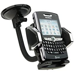 Zizo Universal Car Mount Holder For Cellphones, Mp3 Player, Apple Iphone 4, Htc Evo 4G, Htc Incredible