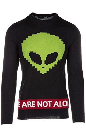 Love Moschino maglione maglia uomo girocollo nero EU M (UK 38) M S 6U0 00 X 0046 40