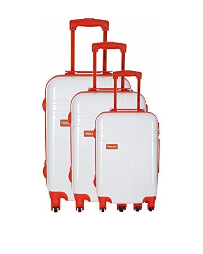 TRAVEL ONE Set 3 Trolley Rigido Middles