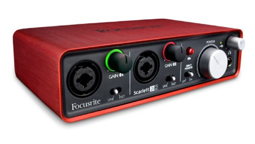 Focusrite Scarlett 2i2 2 In/2 Out USB Recording