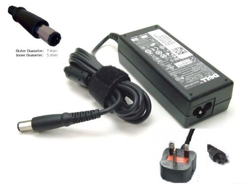 GENUINE ORIGINAL DELL AC ADAPTER FOR DELL INSPIRON 1750 LAPTOP 19.5V 3.34A 65W CHARGER POWER SUPPLY (PLEASE CHECK CONNECTOR PRIOR TO PURCHASE)