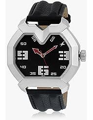 Fastrack Black/White Dial Men's Analog Watch - 3129SL02
