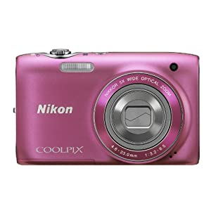 Nikon Coolpix S3100 Digital Camera - Pink (14MP, 5x Wide Optical Zoom) 2.7 inch LCD