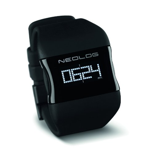 Neolog Unisex Watch OS Deep Black Digital Quartz 85300110