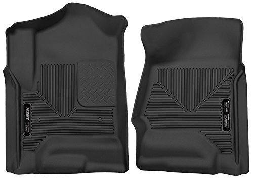 Husky Liners 53111 X-act Contour Black Front Floor Liner (Husky Floor Mats Chevy Silverado compare prices)