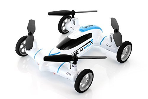 Syma-X9-Fly-Car-4-Channel-24Ghz-RC-Quadcopter-WHITE