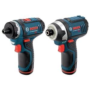 Bosch CLPK27-120 12伏特电钻2件套组合
