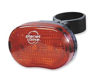 "Planet Bike Blinky ""3"" 3-Led Rear Bicycle Light"