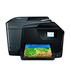 HP OfficeJet Pro 8710 Wireless All-in-One Color Inkjet Printer, Instant Ink ready. (M9L66A)