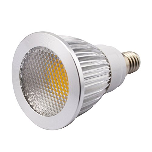 Grexistar 5W E14 Ac 85V~265V / 50 / 60Hz Cob Led Spot Light Bead Surface Lens Warm White